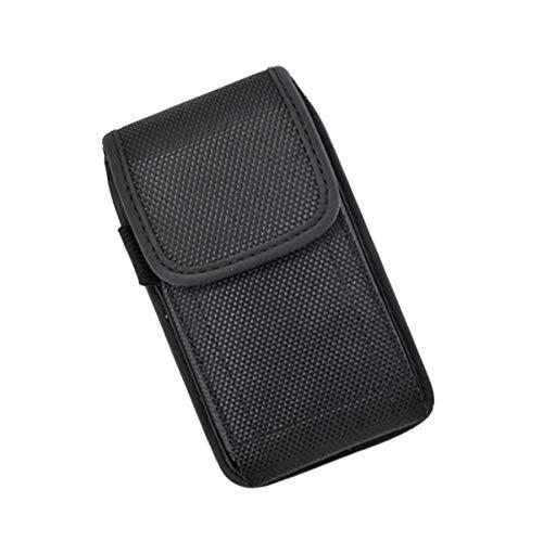 Apple iPhone SE, iPhone 5, iPhone 5S - Canvas Pouch Vertical Case w/Belt Clip - Vertical ()