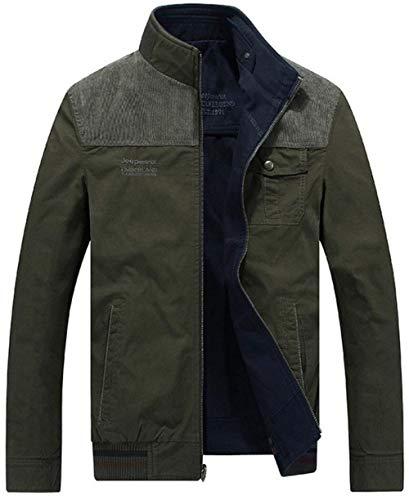 Long Blau Unique Jackets Outerwear Outerwear Pockets Side Men's Outdoor Jacket Zipper 1 Down Sleeve Jacket xvA7wqFPq6