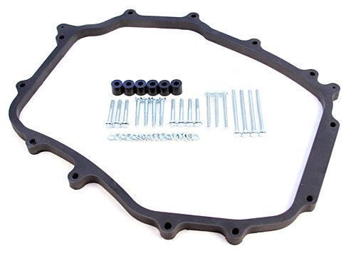 Blox Racing BXIM-40201 INTAKE MANIFOLD SPACERS ()