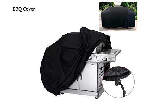 EDTara 210D Gas Grill Cover Oxford Cloth Sun Protection Protection Baking Machine Rain Cover 3XS by EDTara