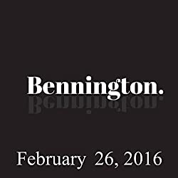 Bennington, February 26, 2016