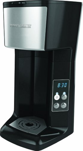 Black & Decker CM620B Programmable Single Serve Coffee Maker, Black