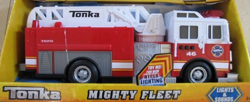 Tonka Mighty Fleet Fire Truck with Lights And Hyper Sounds