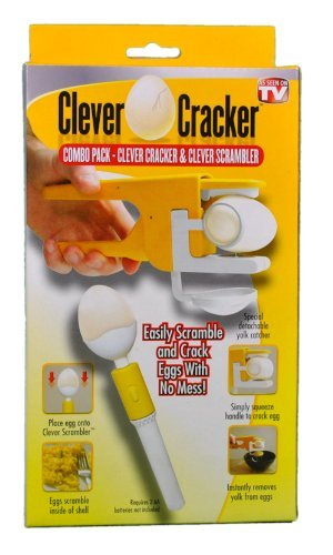 Easy Egg Cracker Egg Separator (White) - 9