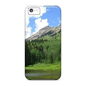 Premium Colorado Rocky Mountains Heavy-duty Protection Case For Iphone 5c