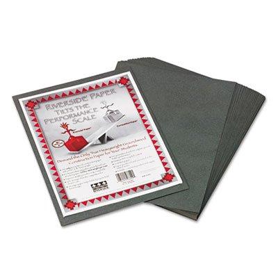 Riverside Construction Paper, 76 lbs., 9 x 12, Slate Gray, (Slate Gray 50 Sheet)