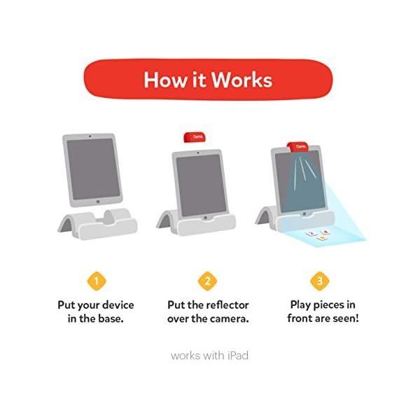 Osmo - Starter kit per iPad 3 giochi di apprendimento pratici - età 5-10+ - Imparare a codificare, codificare le basi e codificare puzzle - Base iPad inclusa, 901-00039 5 spesavip