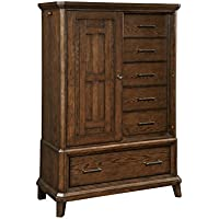 Broyhill Estes Park Sliding Door Chest, Brown