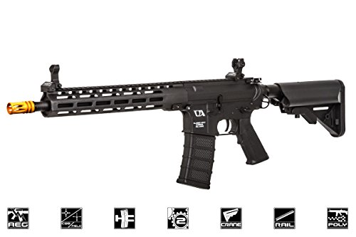 Classic Army Mp5 - Classic Army Skirmish CA4 ML12 M4 M-LOK Carbine AEG Airsoft Gun (Black)