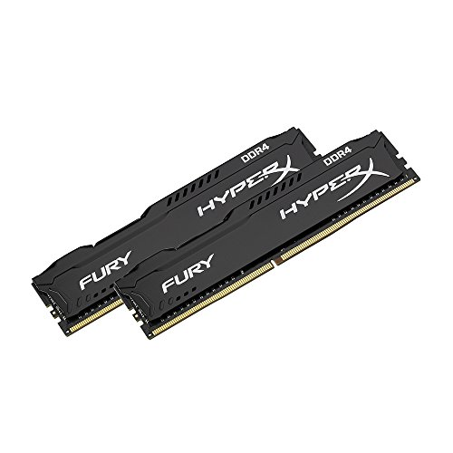 kingston hyperx fury black 8gb kit 2x4gb 2133mhz ddr4. Black Bedroom Furniture Sets. Home Design Ideas
