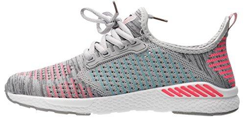 de Ligeros Rosa Zapatos Adulto 36 Y JOOMRA 6 46 Running Unisex Colores Gris w6Fqddt5