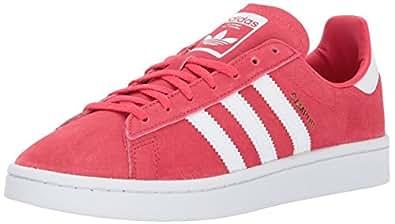 adidas Originals Women's Campus W Sneaker, Core Pink/White/Crystal White, 5 Medium US