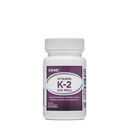 GNC Vitamin K-2 - 100 mcg