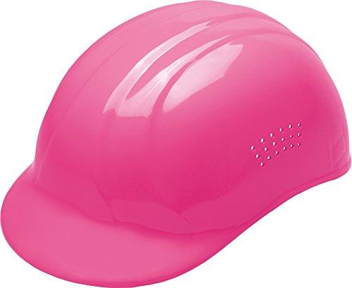ERB Safety 039-19115 67 Bump Cap, 4 Point Plastic Suspension, Polyethylene, Adjustable, Hi-Viz Pink - Molded Polyethylene Bump Cap