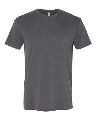 next-level-apparel-6410-mens-premium-fitted-sueded-crew-tee-heavy-metal44-extra-large