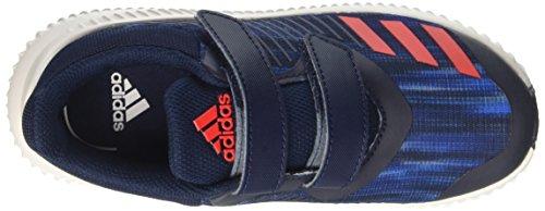 Adidas Fortarun Cf K, Chaussures de Tennis Mixte Enfant, Bleu (Maruni/Rojbas/Ftwbla), 36 EU