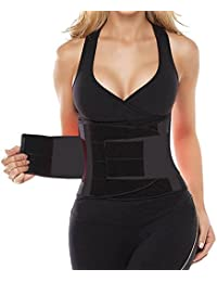 Camellias Women's Waist Trainer Belt - Body Shaper Belt...