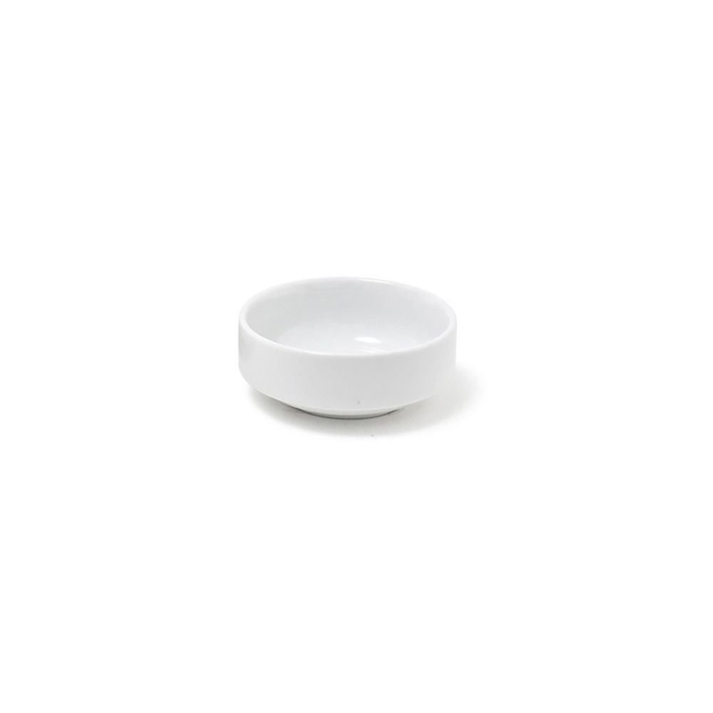 Front of the House ASC016WHP23 Monaco Ramekin, 3'' Diameter, 1.25'' Height, 3 oz, Porcelain, White (Pack of 12)