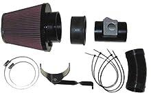 K&N 57-0599 Kit de Admisión de Rendimiento Coche, Lavable y Reutilizable