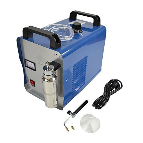 75L/H 19.8GAL/H Oxygen Hydrogen Water Acrylic Flame Polishing Machine Welder Torch Polisher 110V by Hong Guang