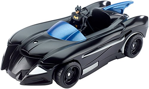 DC Comics Justice League Action Batmobile and Batjet Vehicle