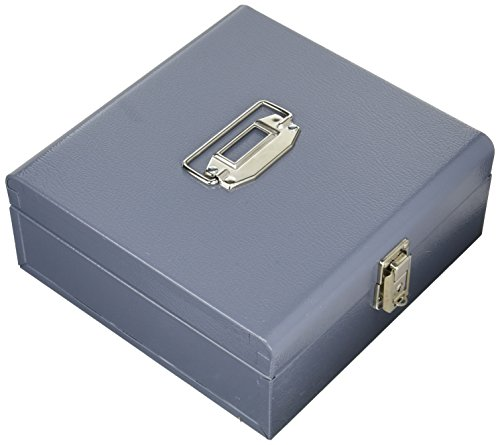 Buddy Products Jumbo Cash Box, Steel, 9.75 x 4 x 10 Inches, Gray (0518-1)