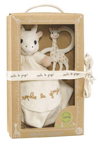 Vulli - So'Pure - Sophie la Girafe - Coffret Doudou + Anneaux de Dentition 220113
