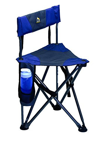 GCI Outdoor Quik-E-Seat, Midnight Blue (Portable Travel Camping Chair)