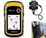 Garmin eTrex 10 Hiking GPS Bundle | with Backpack Tether Mount | GPS/GLONASS