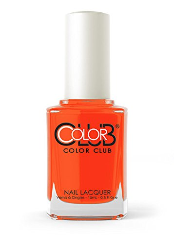 Color Club Poptastic Neons Nail Polish, Orange, Lava Lamp.05 Ounce