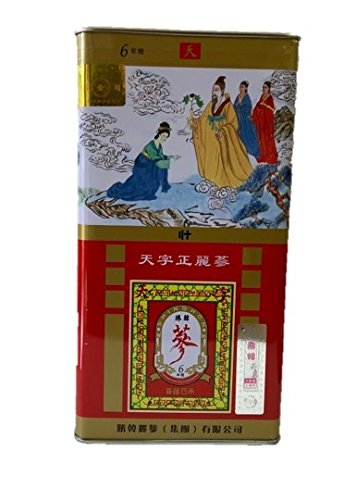 Shing Hon Dried Korean Red Ginseng Roots 6 Years Heaven Grade (150g) by Shing Hon Ginseng