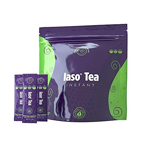 TLC Total Life Changes IASO Natural Detox Instant Herbal Tea – Expiration Date on The Pack Means Month/Year – 25 Count…