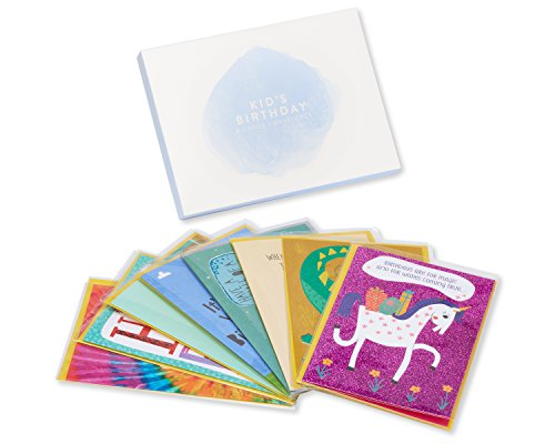 American Greetings Premium Kids Birthday Greeting Card Collection, 8-Count by American Greetings