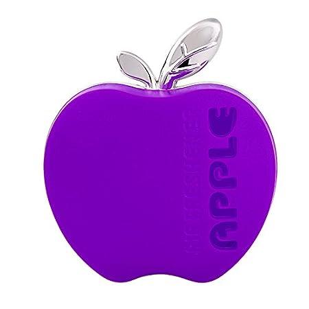 iTimo Original Parfum Dé sodorisant en Forme de Pomme Orange Citron Apple Fraise Lavande Parfum de Voiture (Rose)