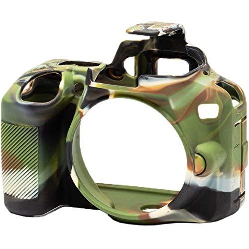 easyCover シリコン保護カバー Nikon D3500用 (迷彩) B07M7P2852