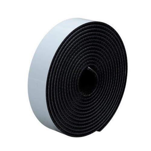 Pack of 10 TapeCase 4-4-10-SJ3540 3M SJ3540 Dual Lock Reclosable Fastener Square 4 Wide 4 Length 4 Wide Black 4 Length