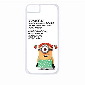 I Don't Need Your Attitude, I Have My Own.- Hard White Plastic Snap - On Case-Apple Iphone 6 Plus Only - Great Quality!