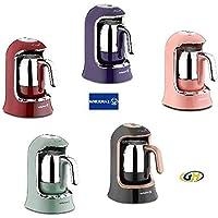 Korkmaz A860-05 Kahvekolik Siyah Türk Kahve Makinesi