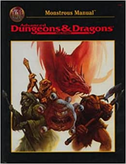 Monstrous manual (ad&d 2nd ed fantasy roleplaying accessory, 2140.