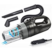 Car Handheld/Portable Cyclone Pro. Vacuum Cleaner,Hwiring Wet & Dry Triple filter 12V / 150W 13ft Power Cord With Carry Bag