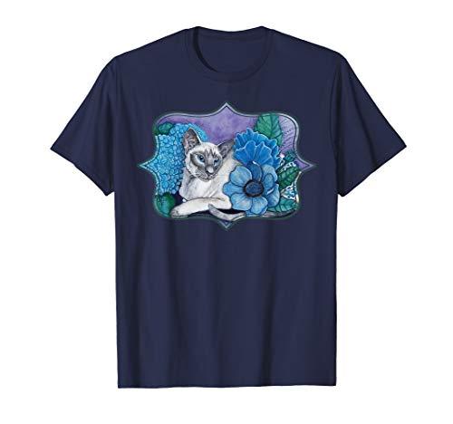 Blue Point Siamese Cat T-Shirt ()