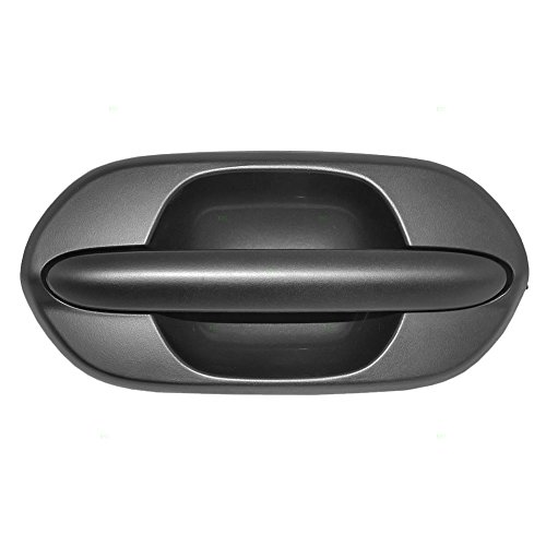 Passengers Rear Outside Outer Textured Door Handle Replacement for Honda Van 72640-S0X-A01