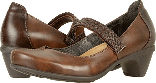 Naot Leather Walnut Mary Forward Brown Pecan Janes Women's 8qZv1f8P