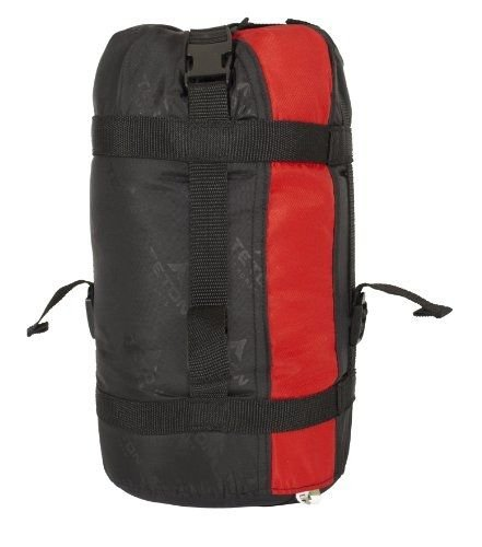 Sports Tracker 5F Ultralight Sleeping Bag, Red/Grey