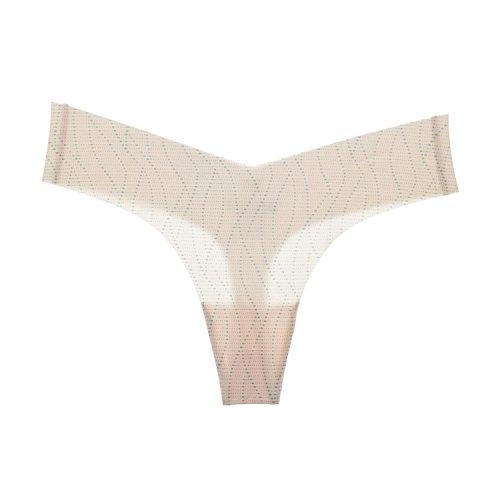 La Isla - Tangas Bikini Estampadas de Talle Bajo y Costuras Invisibles Pack de 6 Mixed 6 Pack #2