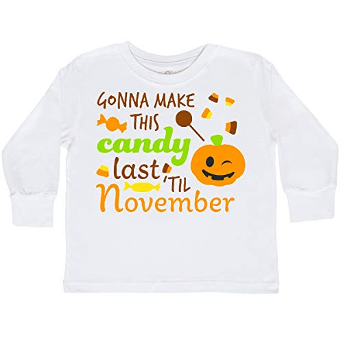 inktastic - Gonna Make This Candy Toddler Long Sleeve T-Shirt 2T White -
