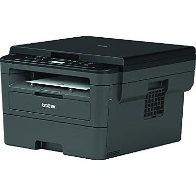 Brother DCPL2510D - Impresora multifunción láser monocromo con impresión dúplex (30 ppm, USB 2.0, procesador de 600 MHz, memoria de 64 MB) gris 2