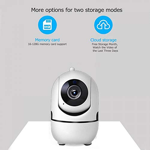(Wireless WiFi Web Camera 720P 1MP Baby Monitor Camcorder Motion Tracking Voice Intercom Support TF Card Home Security Webcam AU)