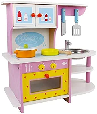 Kitchen Set Wooden Buy Online At Best Price In Uae Amazon Ae