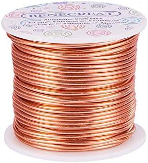 Superb Amazon Com Benecreat 12 17 18 Gauge Aluminum Wire 18 Gauge 492 Ft Wiring Cloud Usnesfoxcilixyz